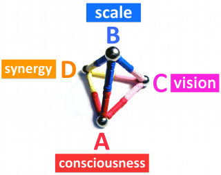 Scale Synergy Consciousness Vision New