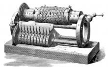 Grant Mechanical Calculating Machine 1877